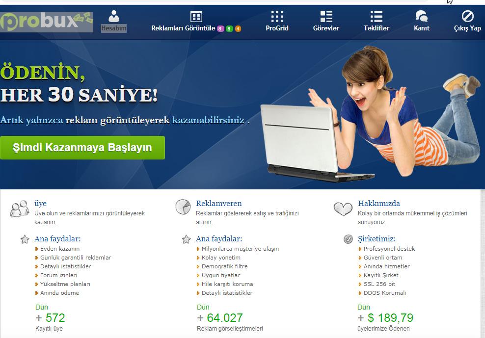 Anket Doldur Reklam Tıkla Para Kazan